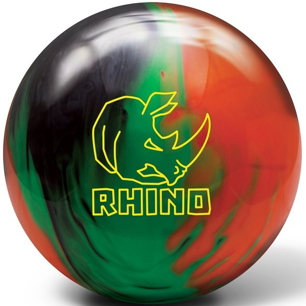 Bowlingball Brunswick Rhino Black/Green/Orange
