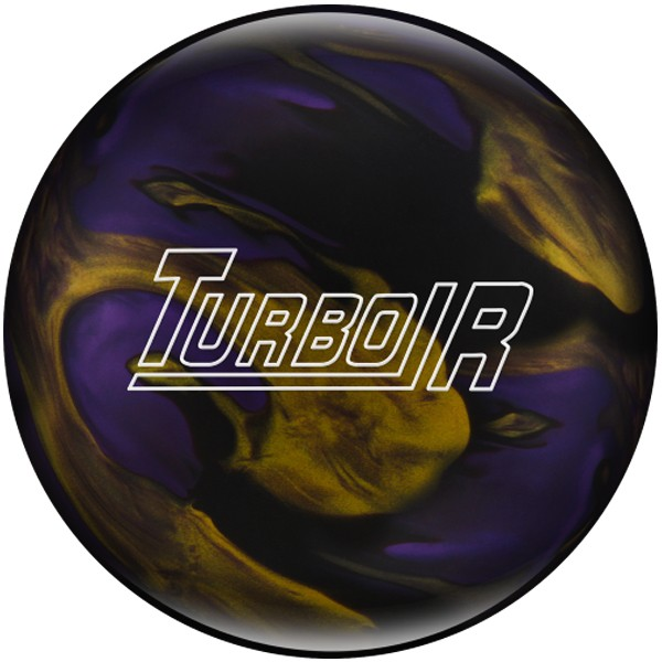 Bowlingball Reaktiv EBONITE Turbo R BlackPurpleGold