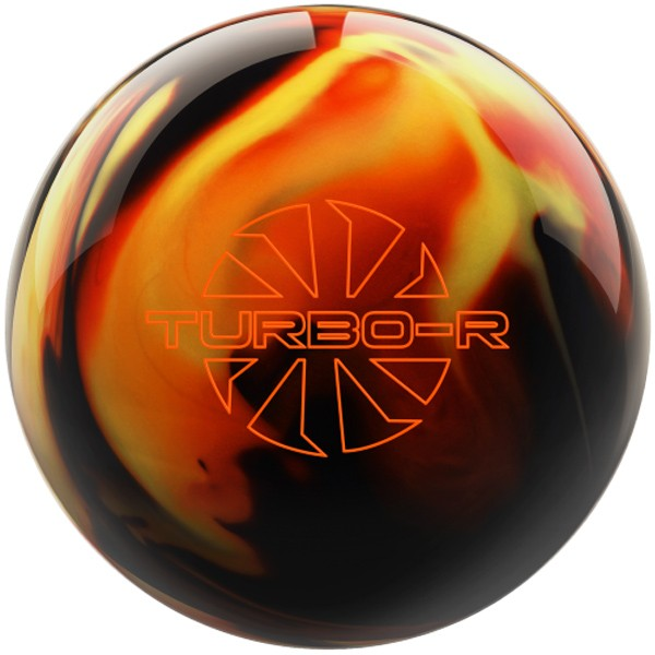 Bowlingball Reaktiv EBONITE Turbo R BlackCopperYellow