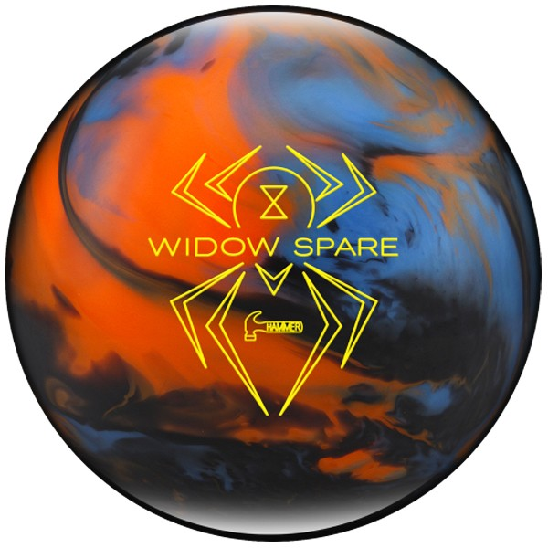Bowlingball Hammer Black Widow Spare Blue/Orange/Smoke
