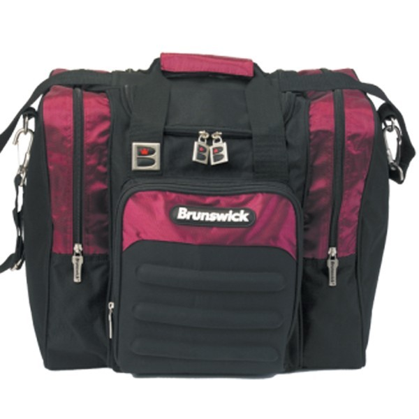 Bowlingtasche BRUNSWICK Flash Single Black/Burgundy
