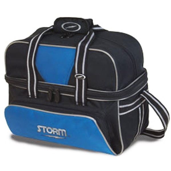 Bowlingtasche Storm 2-Ball Tote DeLuxe BlackBlue