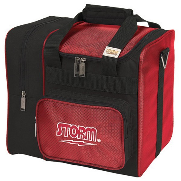 Bowlingtasche STORM 1-Ball Tote DeLuxe RedBlack