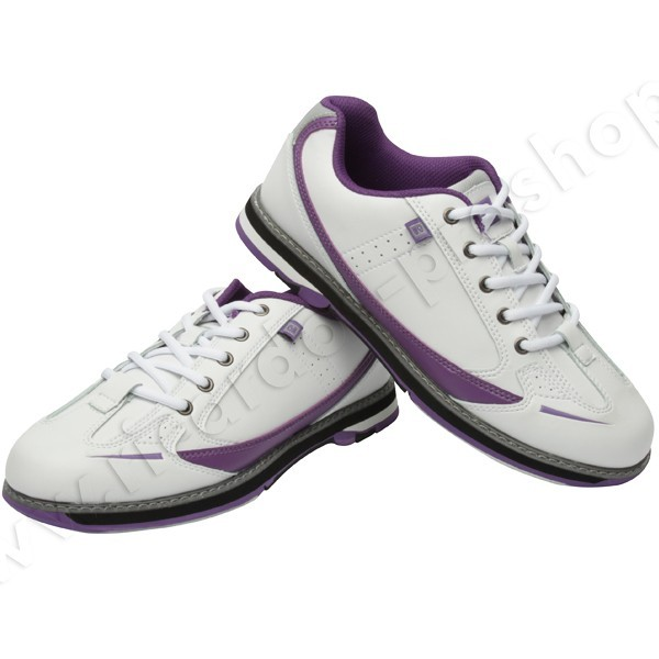 Bowlingschuhe Damen Brunswick Curve White/Purple