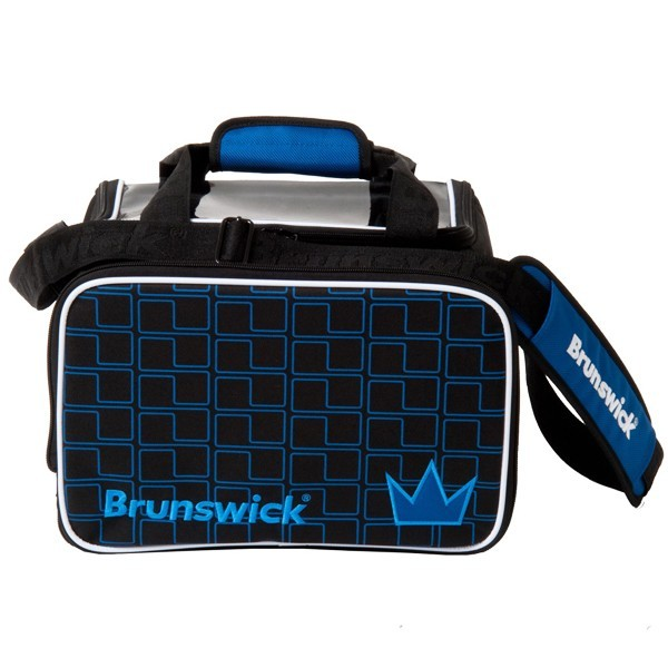 Bowlingtasche Brunswick CROWN Single Tote RoyalBlack