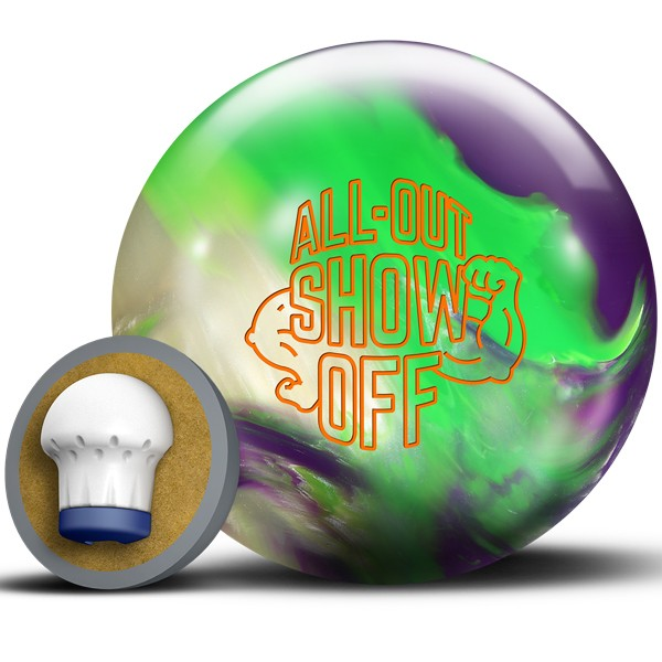 Bowlingball Reaktiv Roto Grip All-Out Show Off