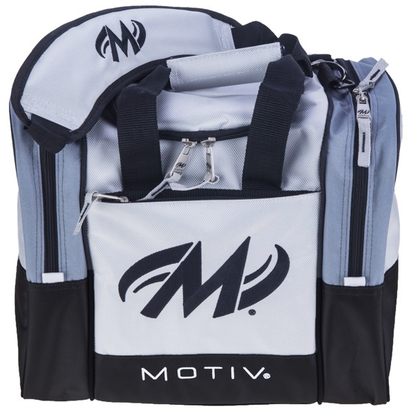 Bowlingtasche Single Motiv Shock 1-Ball Tote Silver
