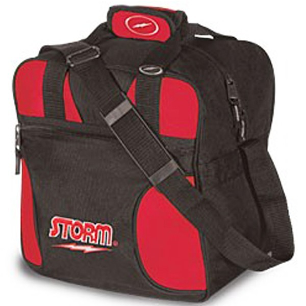 Bowlingtasche STORM 1-Ball Tote Black/Red