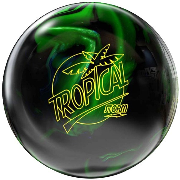 Bowlingball STORM Tropical Black/Lime