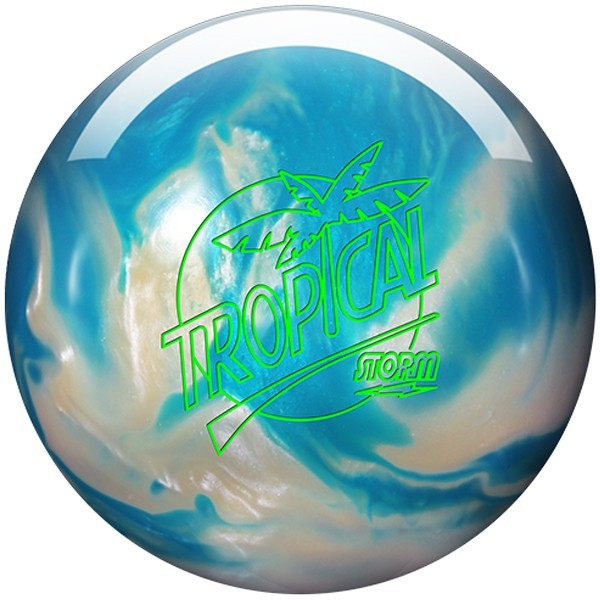 Bowlingball STORM Tropical White/Blue